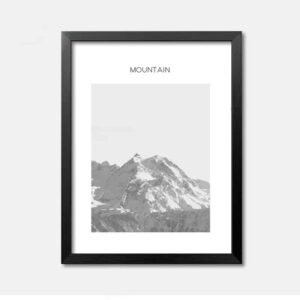 Mountain-fotokunst